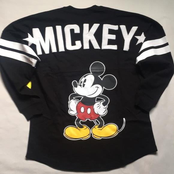 Mickey Mouse 90tg Birthday Spirit Jersey NWT Disney